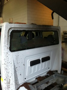 Windscreens Coventry Commercial Vehicle windscreens Coventry Ford Transit Crew Cab 1