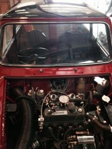 windscreens Nuneaton windscreen replacements Nuneaton 1965 Mini front screen