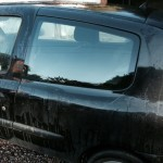 windscreens Rugby rear quarter light door glass replacement Rugby Clio completed