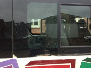 windscreens Leamington Spa side glass replacement Leamington Spa mini bus damage