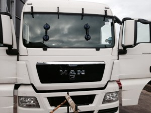 Windscreens Nuneaton Commercial Vehicles windscreen Nuneaton MAN TGX26 windscreen replacement Nuneaton after