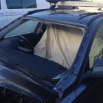 Windscreens Hinckley Windscreen replacement Hinckley BMW 3 Series windscreen removed