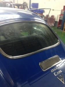 windscreens Nuneaton prestige car windscreens Nuneaton E Type Jaguar Nuneaton 1